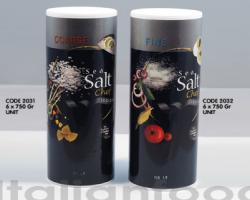 SEA SALT FINE/COARSE 6 X 750G (CHEF