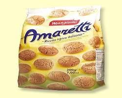 AMARETTI COOKIES (MANGIAMI) - 12 X 200G - DRY B/C-8010121010521