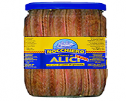 ANCHOVY FILLETS IN OIL (NOCCHIERO) -   6 X 720G JAR