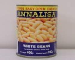 CANNELLINI BEANS (ANNALISA) - 12 X 400G TIN - DRY B/C-8002560150708