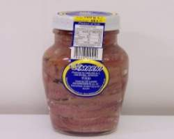 ANCHOVY FILLETS IN OIL JAR (CARLINO) - 12 X 160G -