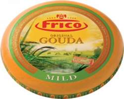 GOUDA SOFT YELLOW WAX CHEESE (FRICO) - R.W. 4KG