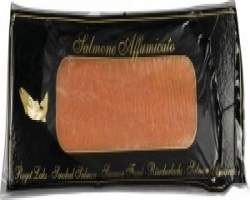 SMOKED SALMON A GRADE SLICED - 1KG FROZEN