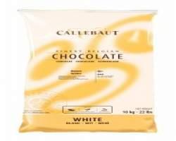 WHITE CHOCOLATE CALLETS (CALLEBAUT) 10KG