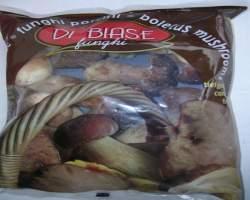WHOLE ITALIAN PORCINI MUSHROOMS FROZEN - 1KG BAG