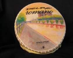 ROMANO CHEESE HALVES - R.W. 2KG (ITALY) (CTN 8)