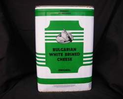 FETTA CHEESE BULGARIAN 100% SHEEP (BALGARIAN) - 13KG TIN