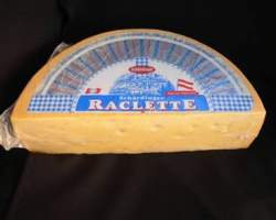 RACLETTE CHEESE (SHARDINGER) - R.W. 5KG HALVES