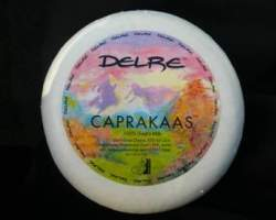 CAPRAKAAS 100% GOATS MILK HARD CHEESE (DELRE) -  RW 4.5KG