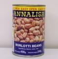 BORLOTTI BEANS (ANNALISA) - 12 X 400G TIN - DRY B/C-8002560070709